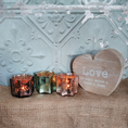 30% OFF Set Of 3 Glass Star Shaped Tealight Holders